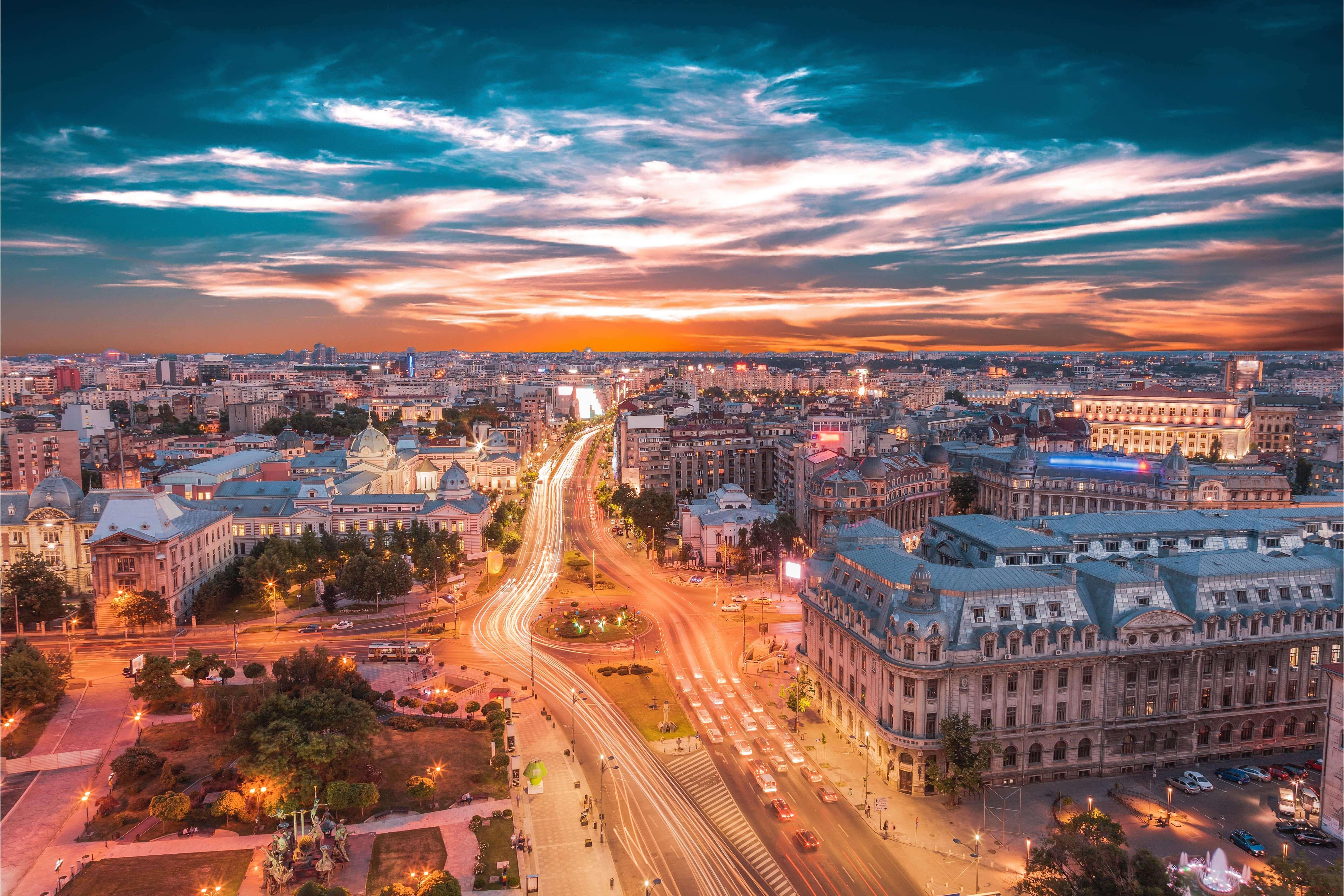 A photo of Bucharest