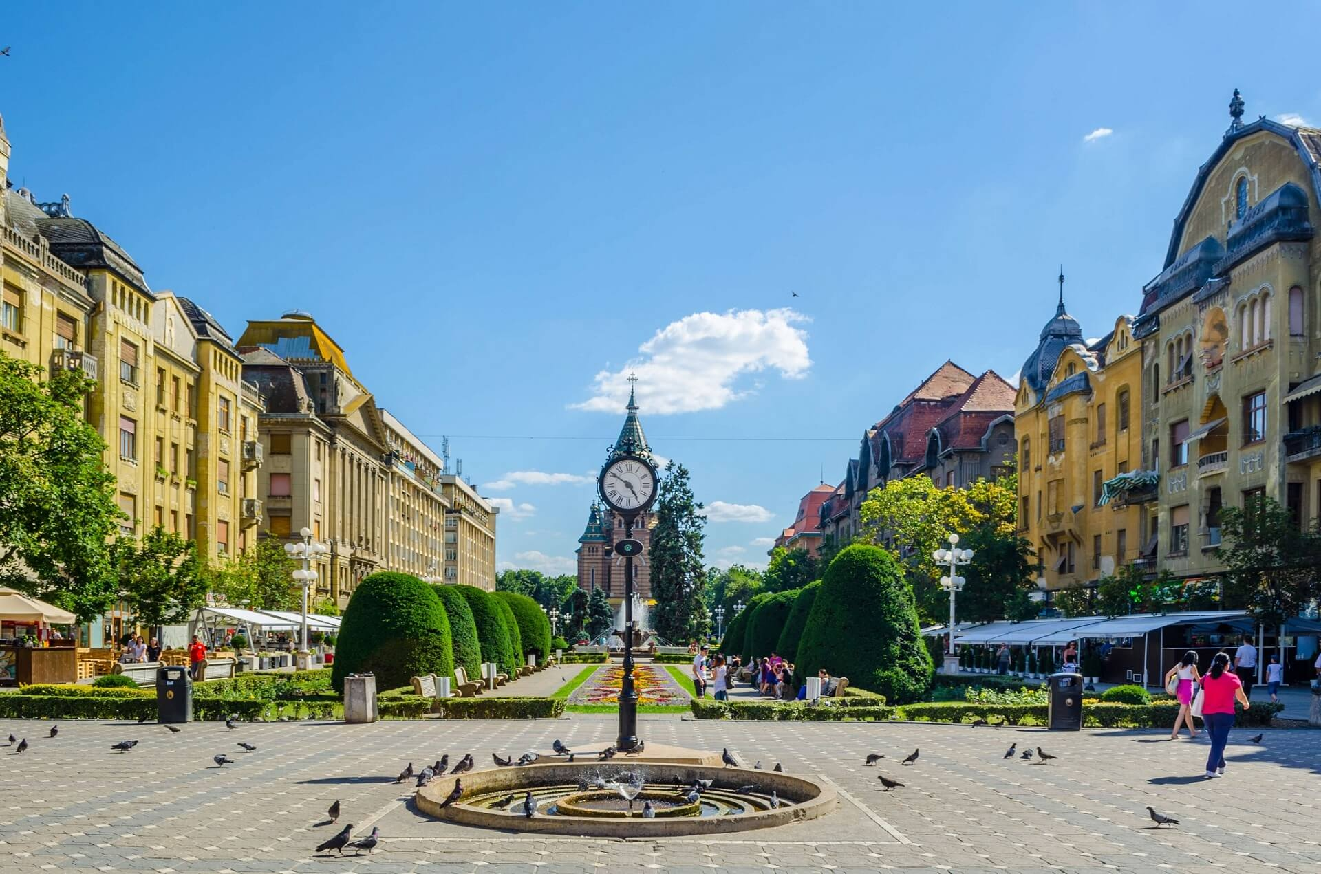 A photo of Timișoara